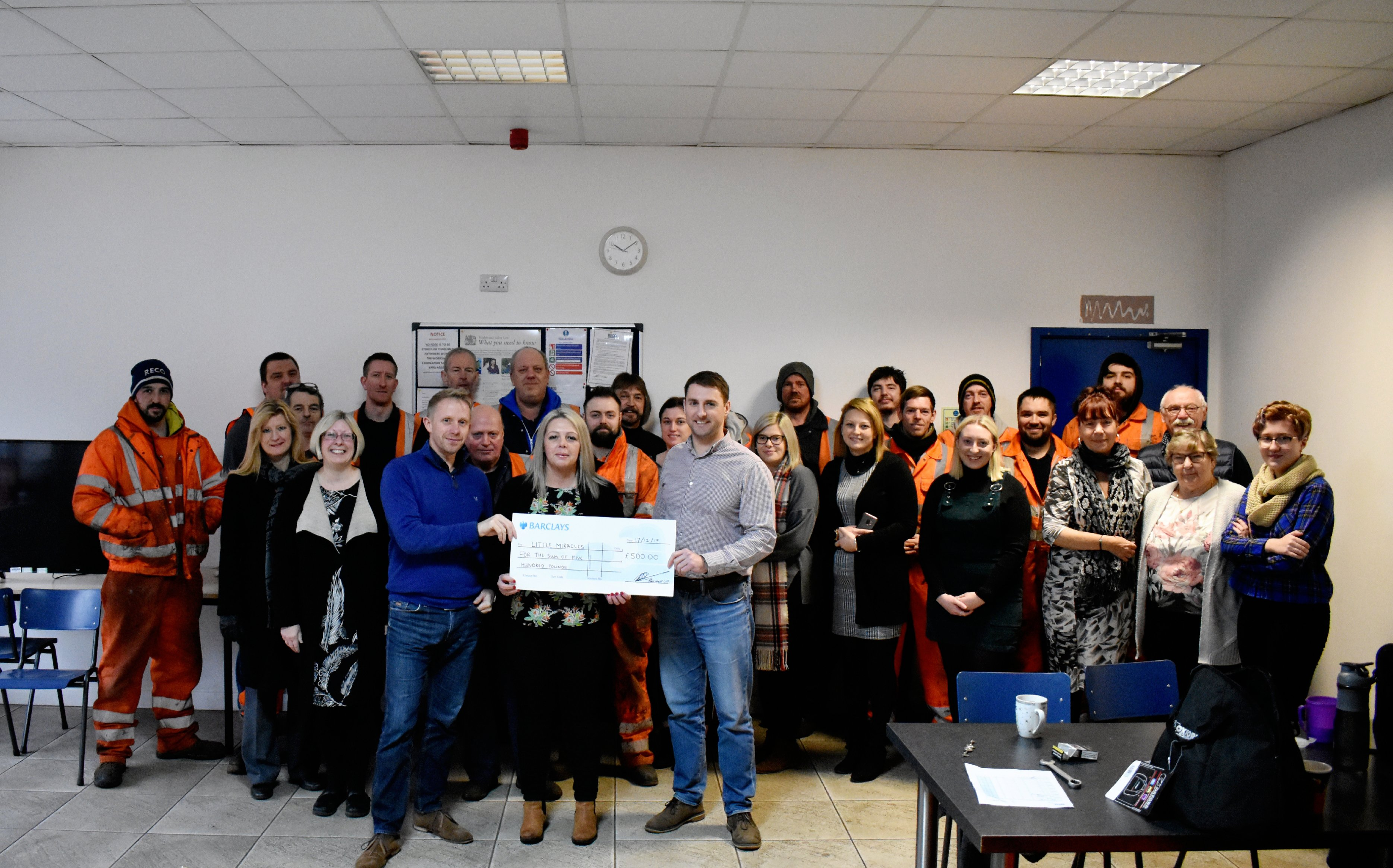 RECO Hoist Hire & Sales supports little miracles charity