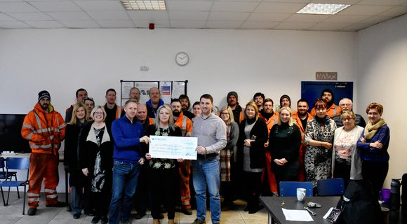 RECO Hoist Hire raised money for local independent charity 'Little Miracles'